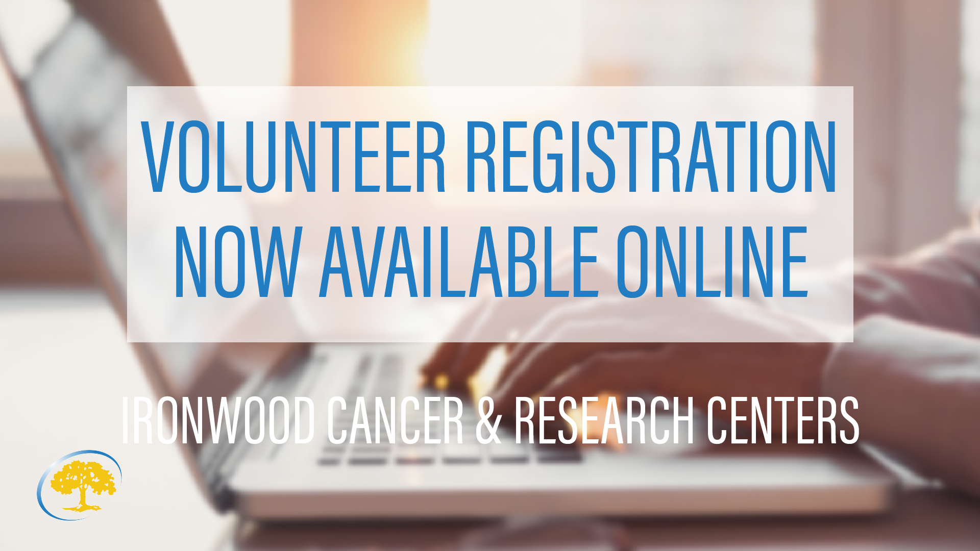 Volunteer Registration Now Available Online