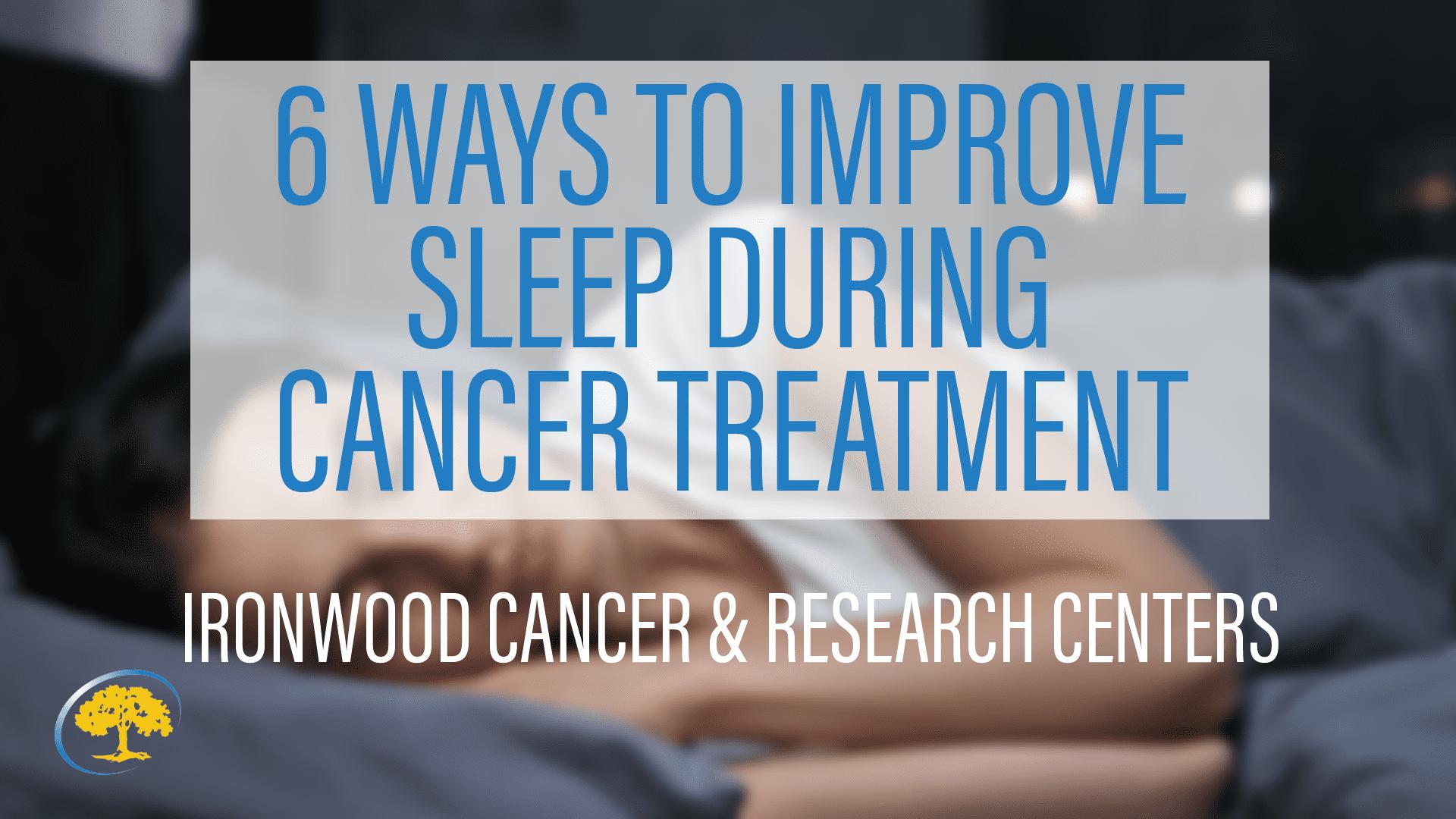 6 Ways Tom Improve Sleep